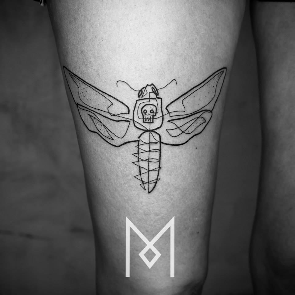 tatuajes-linea-continua-mo-ganji-1