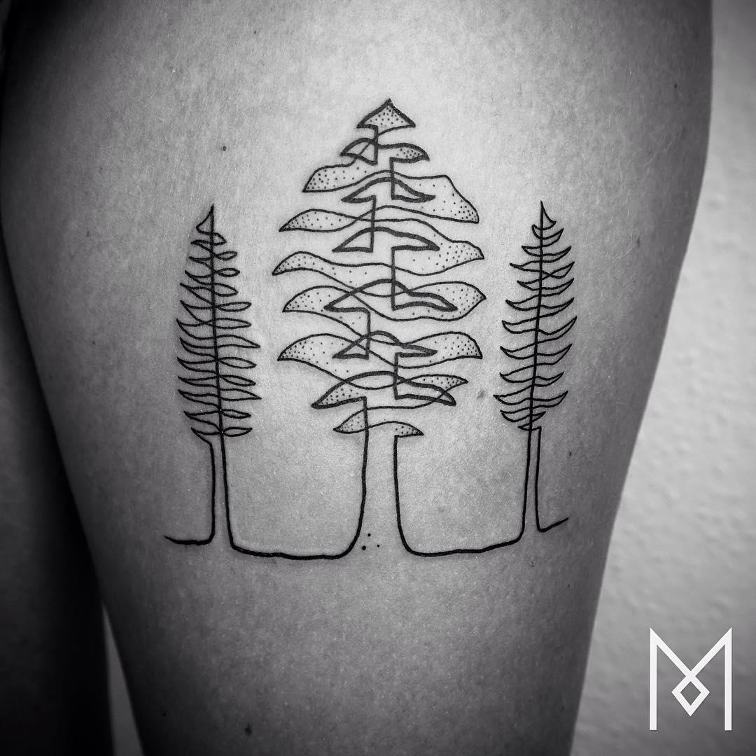 tatuajes-linea-continua-mo-ganji-11
