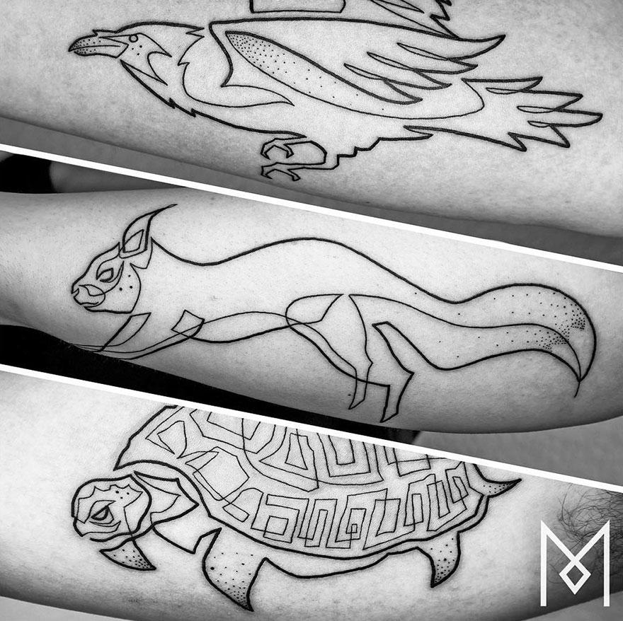tatuajes-linea-continua-mo-ganji-14