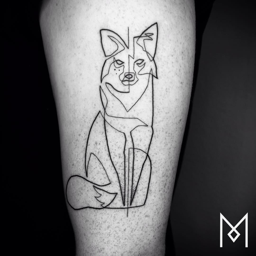 tatuajes-linea-continua-mo-ganji-6