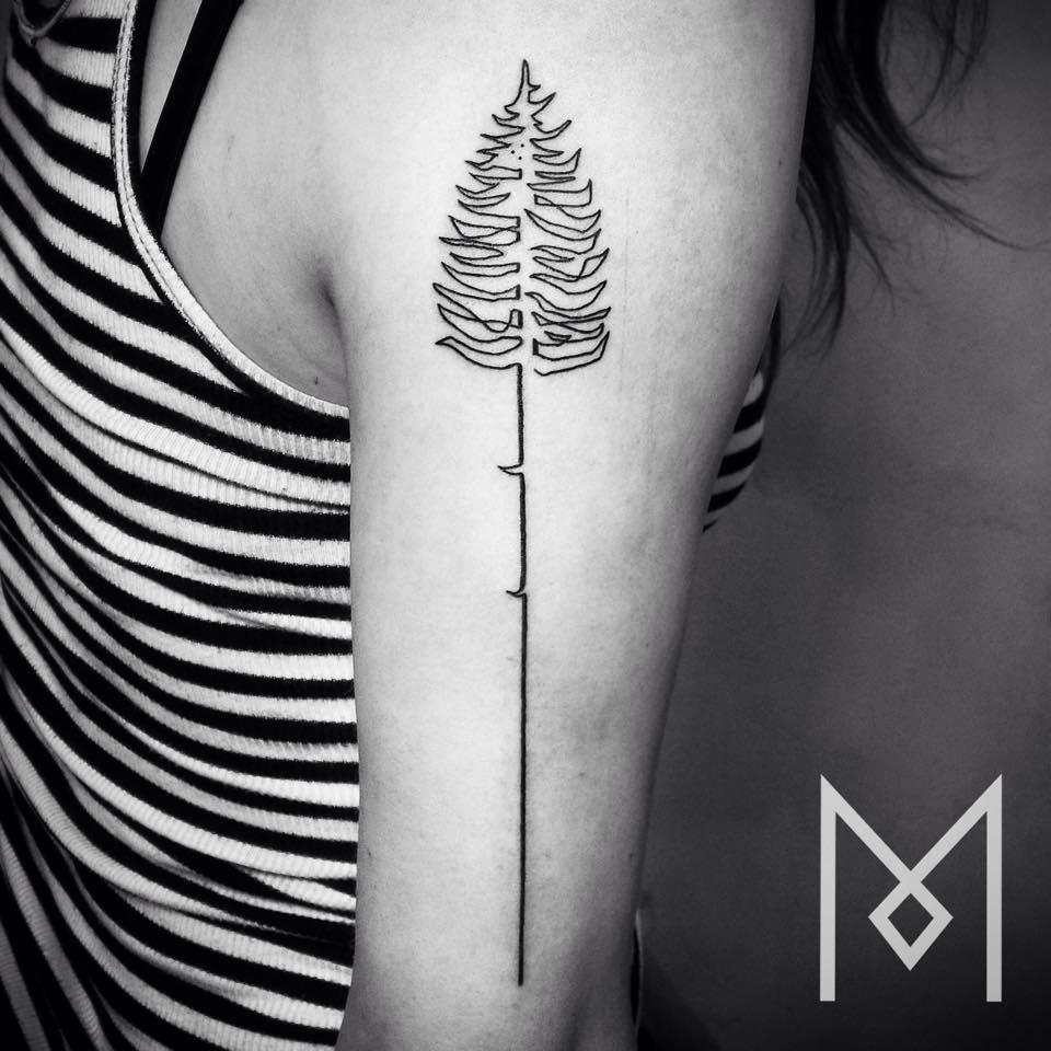 tatuajes-linea-continua-mo-ganji-8