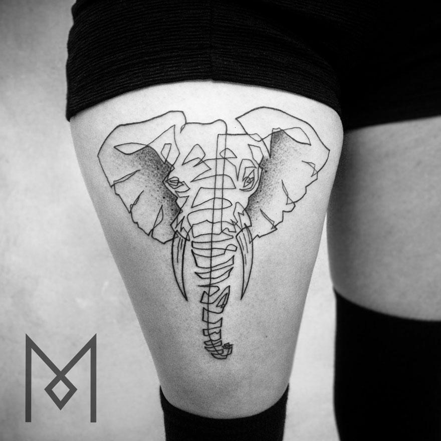 tatuajes-linea-continua-mo-ganji-9