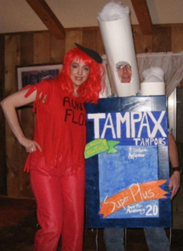 worst-halloween-costume-for-couples-tampon-period-halloween-DIY-costume1