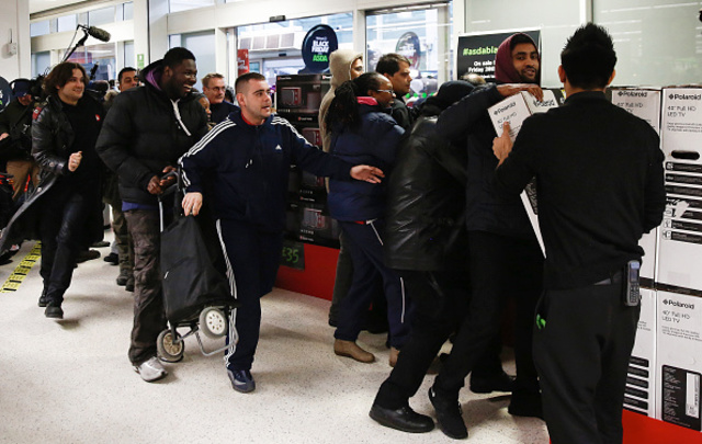 Wal-Mart Stores Inc.'s U.K. Asda Supermarket Entices Shoppers With Black Friday Deals