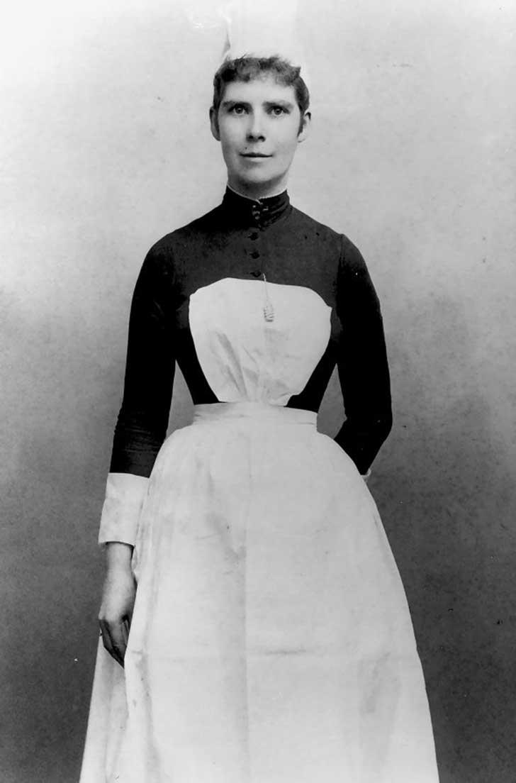Mary-J.-Burns-Certificate-University-Hospitals-Training-School-for-Nurses-1887-portrait-photograph