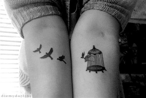 tatuaje,pajaros