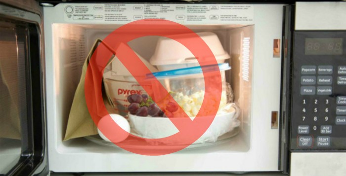 14 cosas que no deber as meter nunca en un microondas - Cocinar en el microondas ...