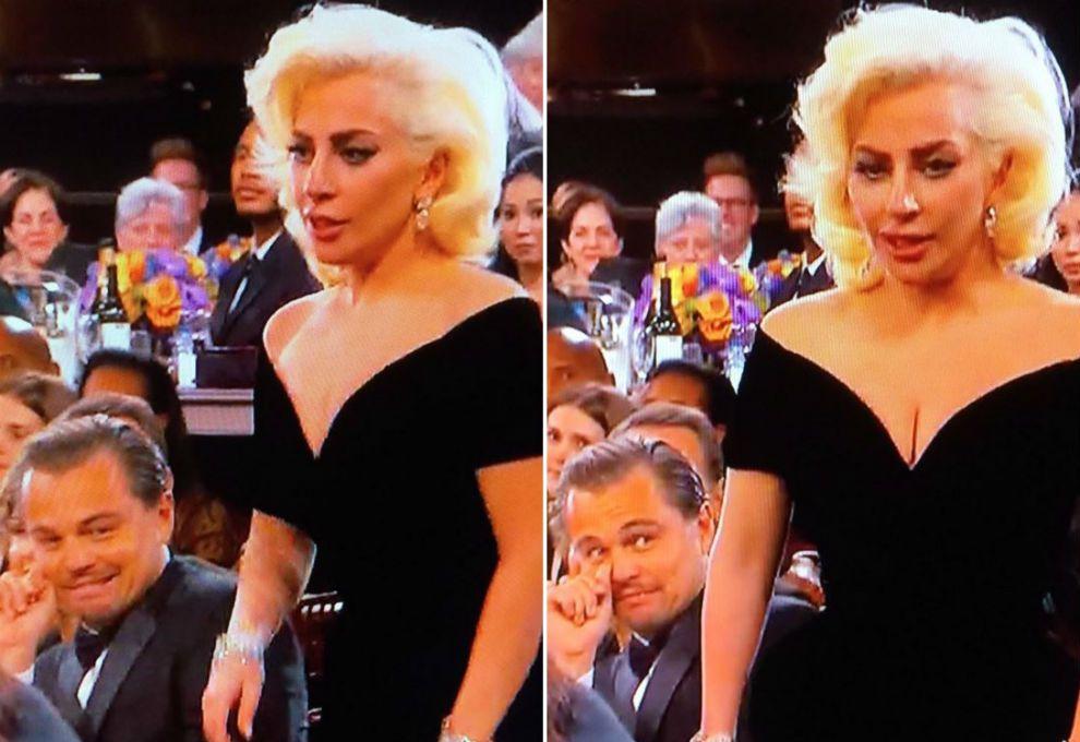 Golden-Globes-Lady-Gaga-Leo-DiCaprio
