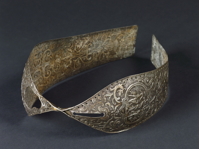 Metal chastity belt, 15th to 16th century.