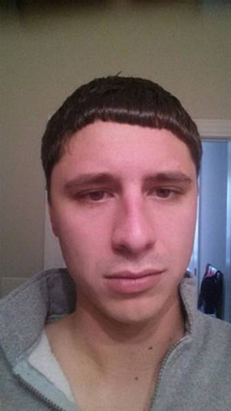 Corte de pelo mal hecho