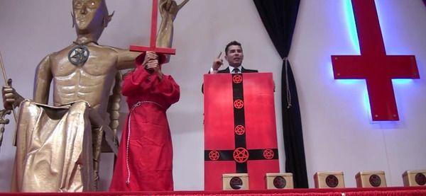iglesia luciferina en colombia por anticristo hombre