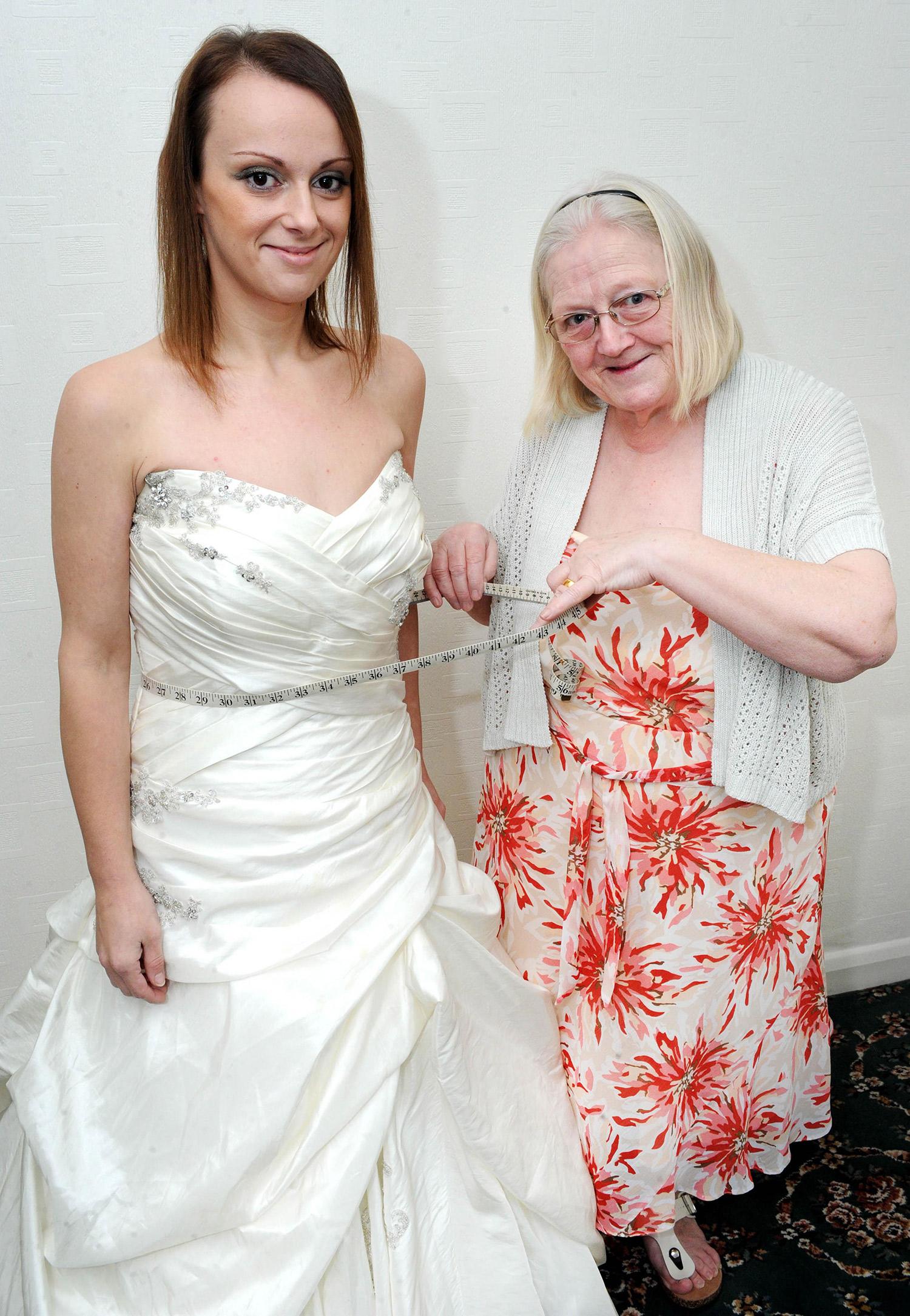 Novia bajó 44 kilos para reducir su vestido de boda - Imágenes ...
