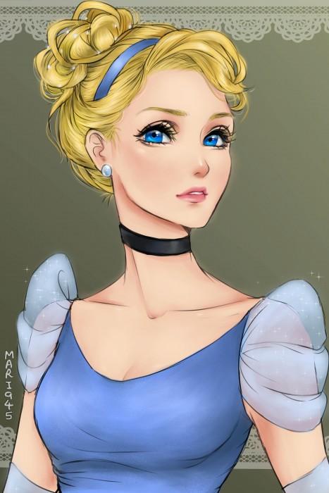 Princesas-de-Disney-como-anime-14-467x700