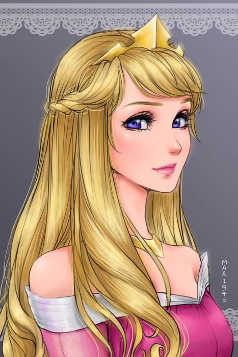 Princesas-de-Disney-como-anime-15-467x700