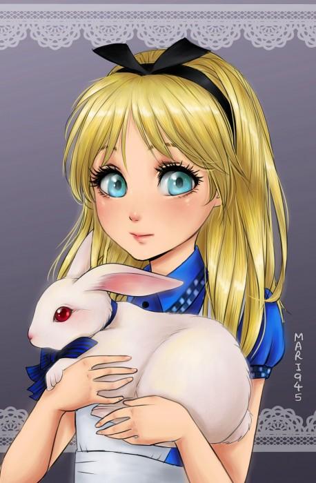 Princesas-de-Disney-como-anime-5-458x700