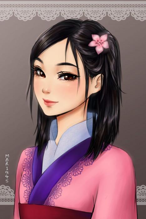 Princesas-de-Disney-como-anime-7-467x700