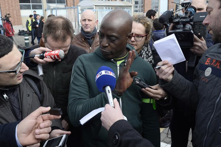 Terrorist attacks in Brussels, Belgium - 22 Mar 2016