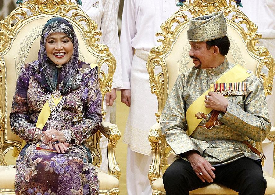 Wedding of the daughter of the sultan of Brunei one of the world's wealthiest men