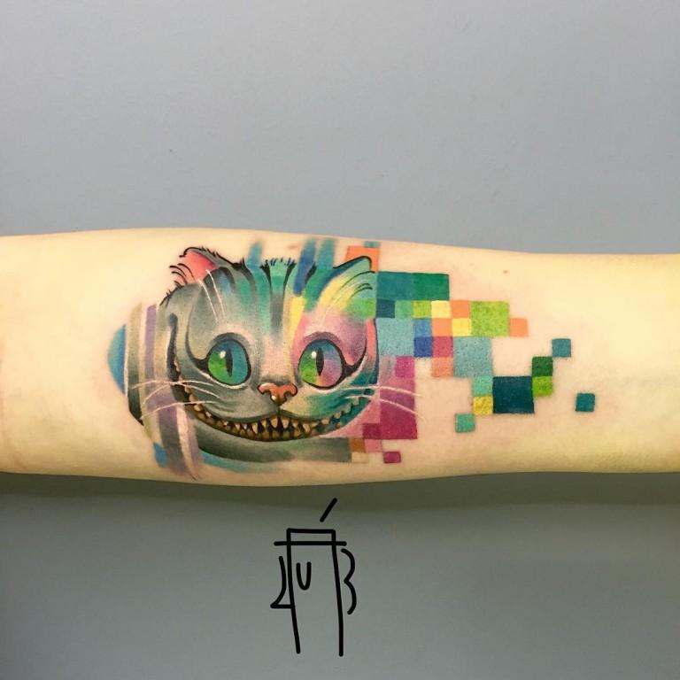 25 Tatuajes Al Estilo Pixel And Glitch Que Vendrían Muy Bien Con Tu