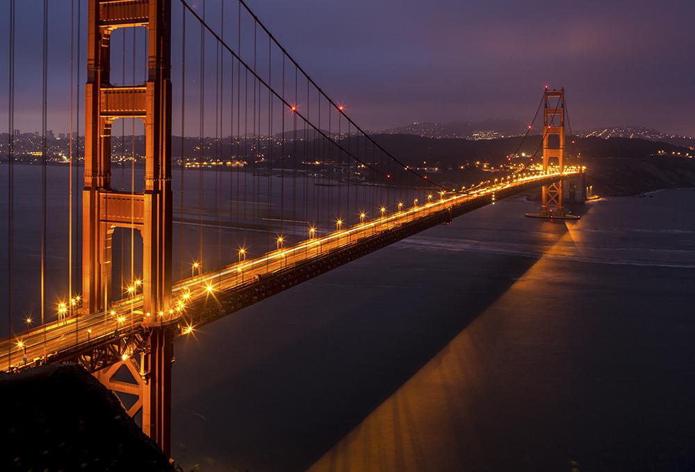GG Bridge Under Construction