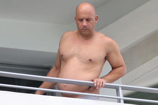 Actor-Vin-Diesel-on-a-balcony-in-Miami-Beach