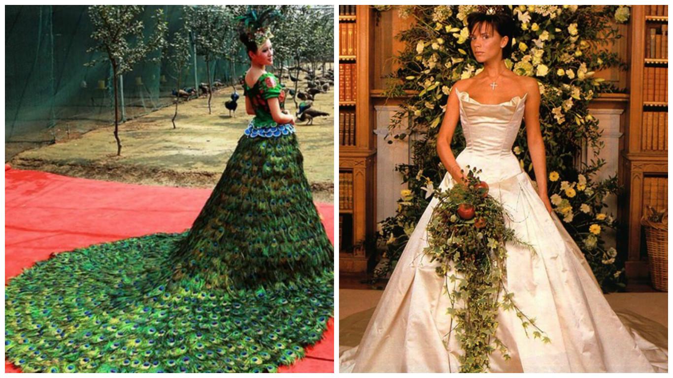 Los 10 vestidos de novia más caros de Hollywood ¡Cuánto dinero ...