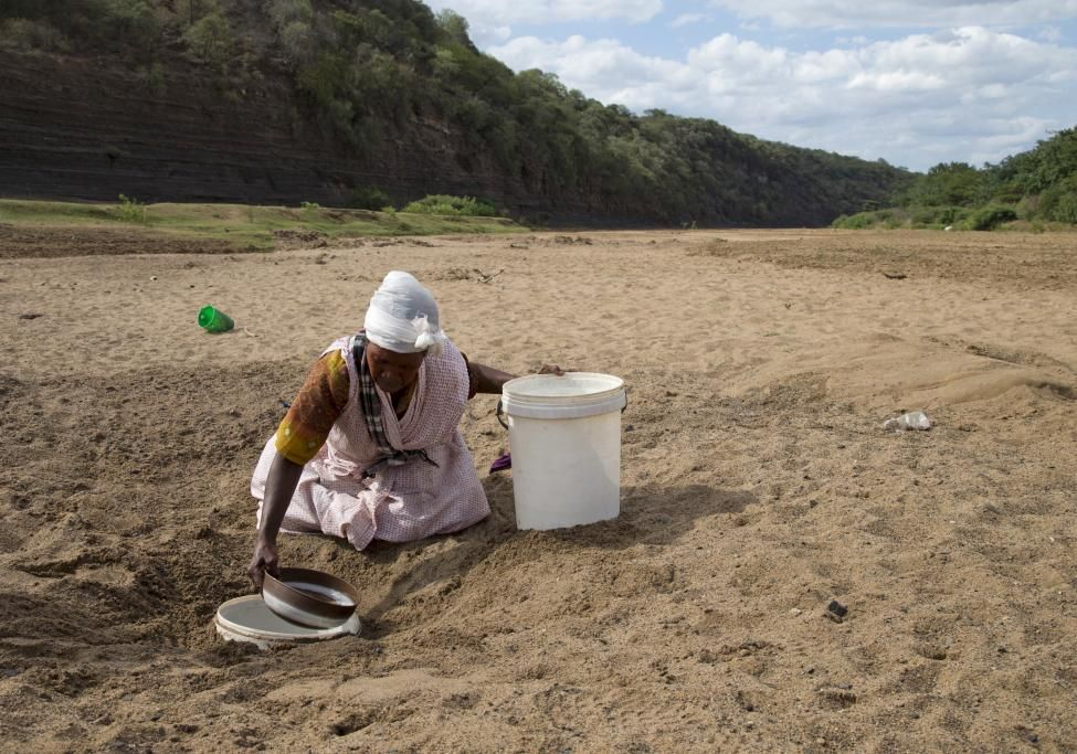 Fotos estremecedoras de la sequía y el hambre en Africa