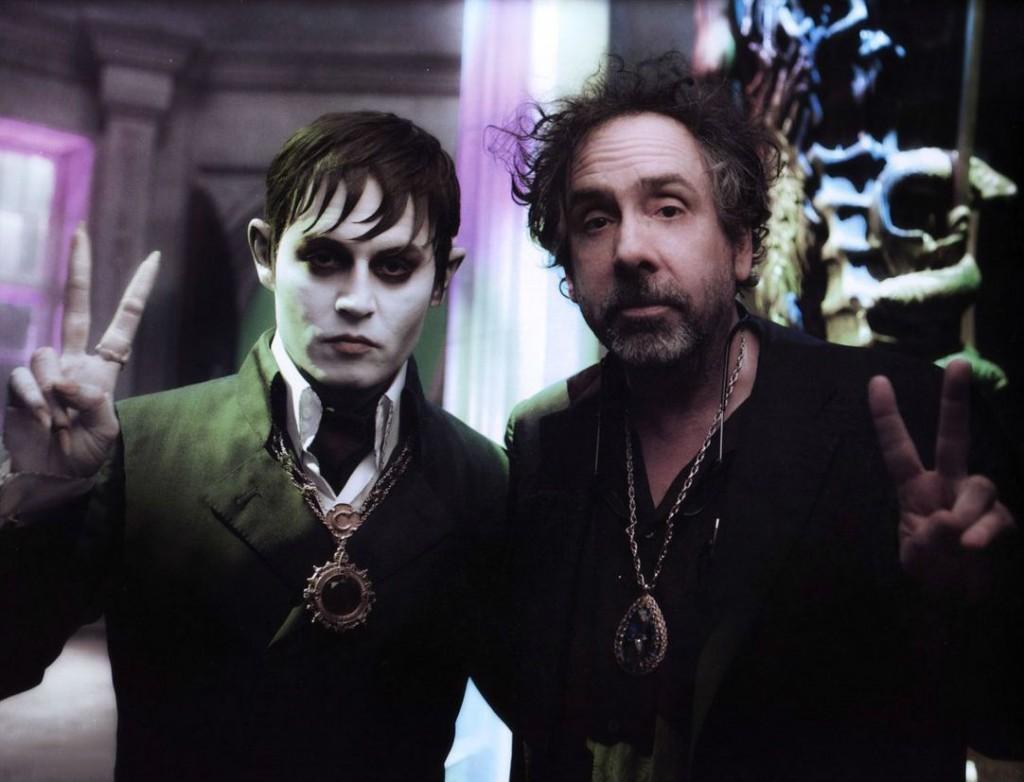 14 Imagenes Detras de las camaras peliculas Tim Burton