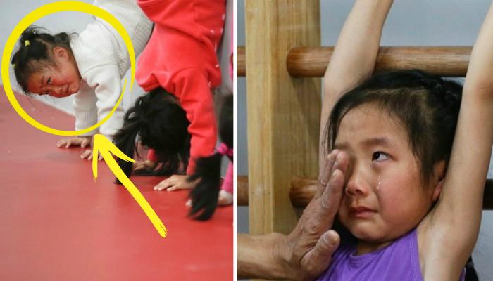 12 Fotos De Ninos Chinos Obligados A Ser Los Mejores Para Los Juegos