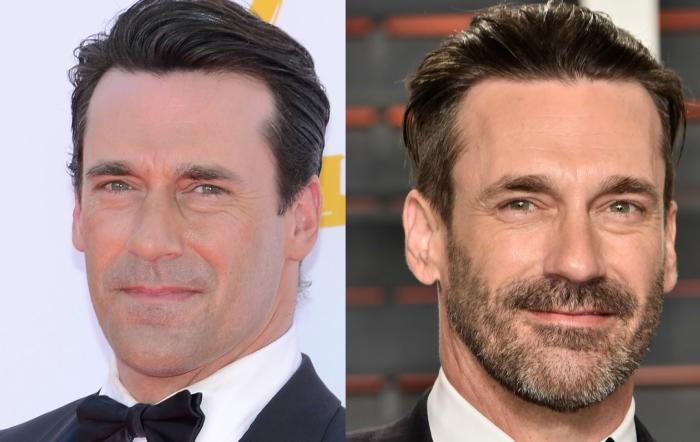 la barba transforma la cara de un hombre
