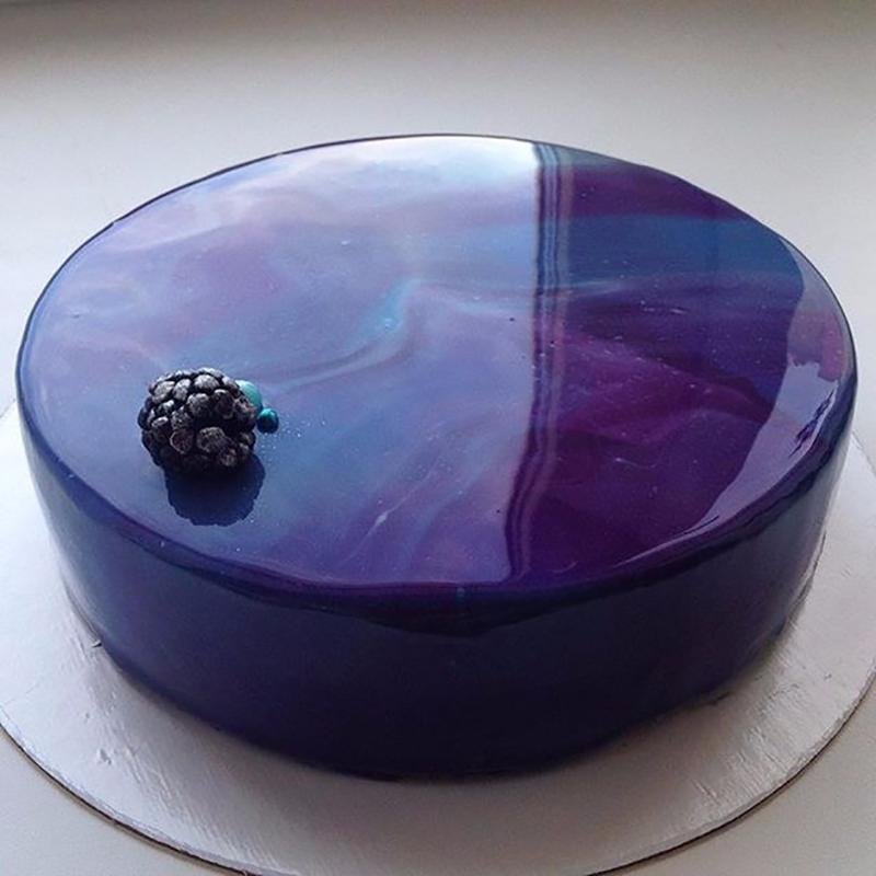 20 tortas con efecto espejo taringa - Pintaunas efecto espejo ...