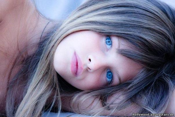 Thylane Blondeau, una joven modelo francesa