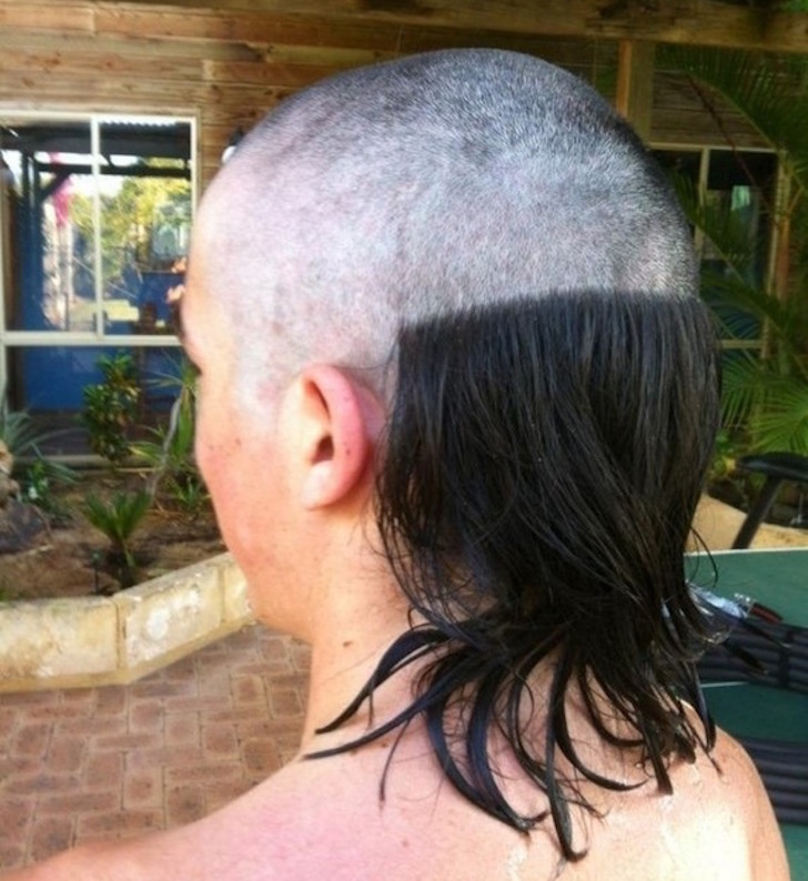Corte de pelo en la nuca mujer