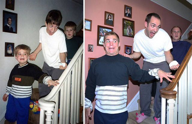 i_bet_these_people_had_a_lot_of_fun_while_recreating_their_childhood_photos_640_14