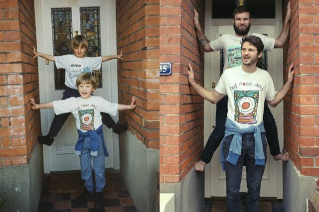 i_bet_these_people_had_a_lot_of_fun_while_recreating_their_childhood_photos_640_15