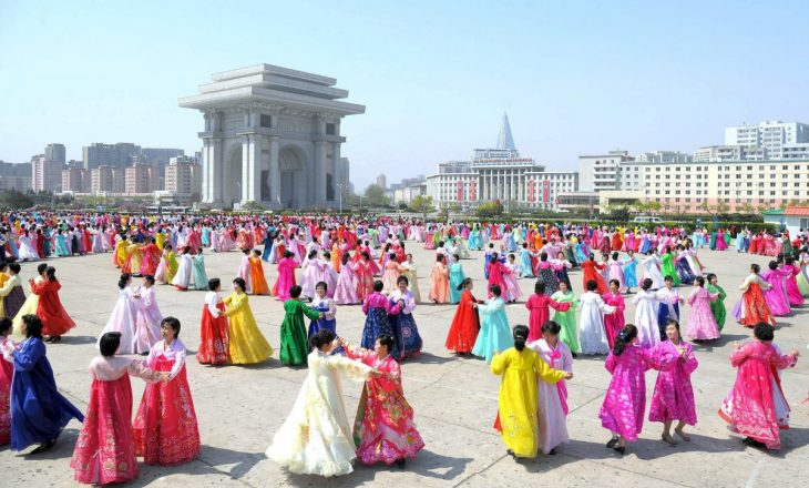 then-there-are-the-dancing-festivals-that-take-place-beside-the-arch-of-triumph-this-one-was-held-by-the-womens-union-to-celebrate-the-83rd-anniversary-of-the-founding-of-the-korean-peoples-army-730x440
