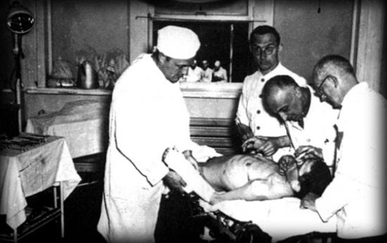 Experimentos con homosexuales en Buchenwald