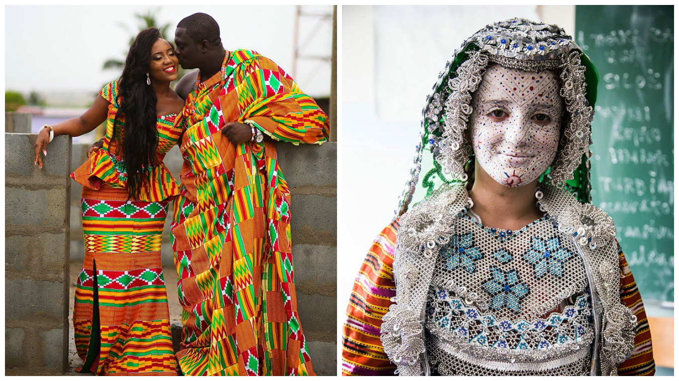 15 vestidos de NOVIA tradicionales alrededor del mundo ¿Cuál es tu ...