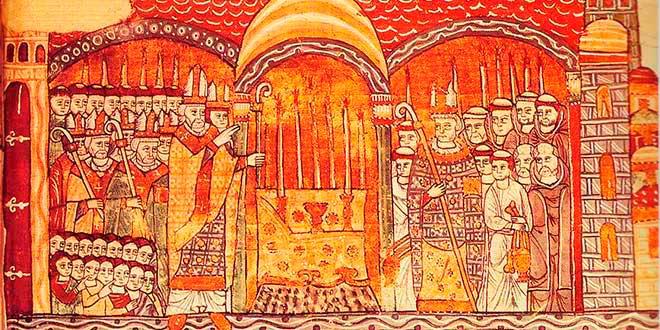 Papa-Urbano_II_consacrando-altar_del_monasterio_Cluny