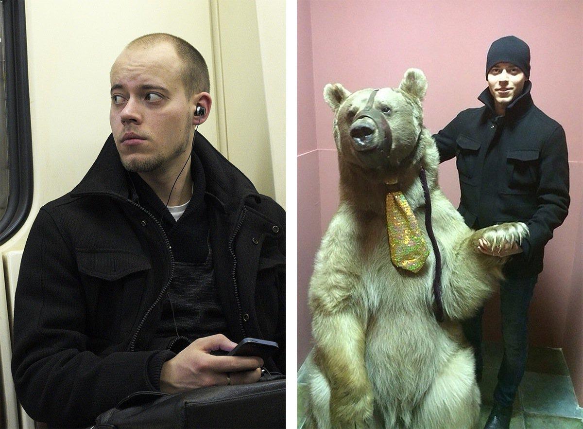 Stalkea gente en el metro y luego los busca en internet