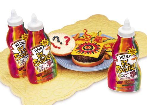 Heinz Ketchup in Colors