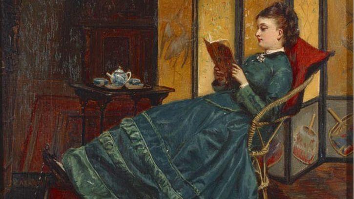 mujer-leyendo-pintura