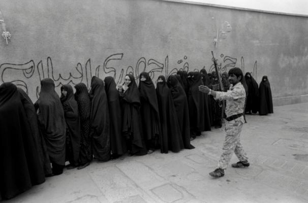 Women Voting in Iran