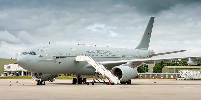 Airtanker A330 Voyager ZZ336 at RAF Brize Norton.