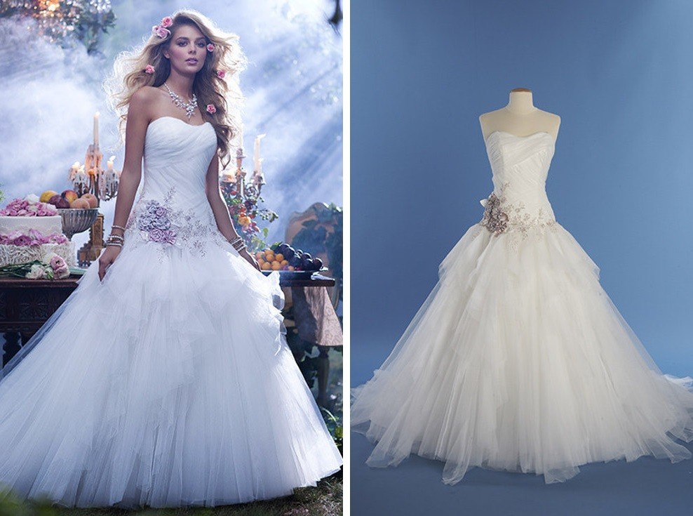 8 vestidos de novia inspirados en las princesas de disney ¿usarías