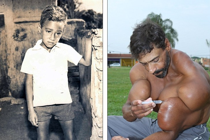tiene 48 años y luce como Hulk Sus músculos lo mataran