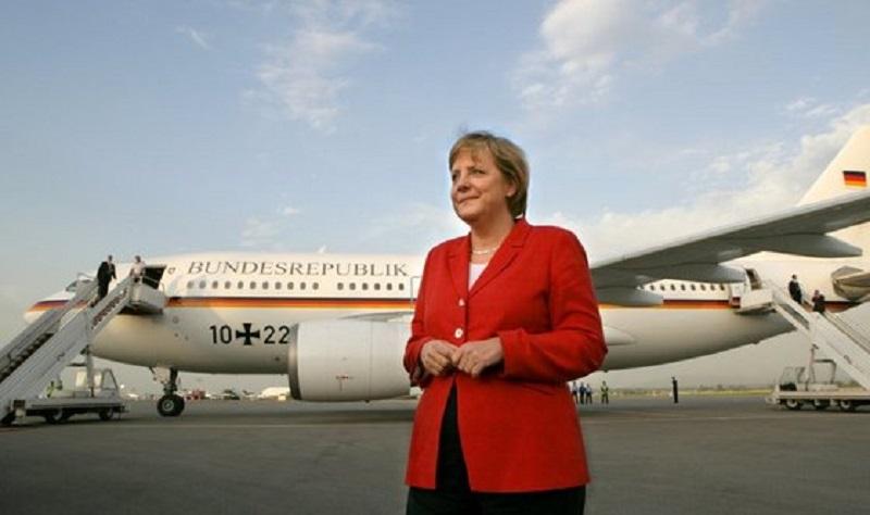 Politiker-Dienstreisen - Merkel