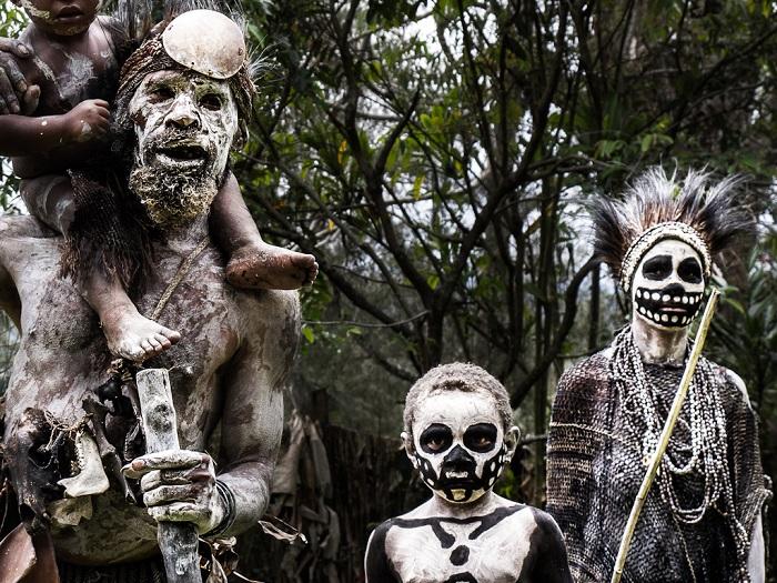 Skeleton people of the Highlands