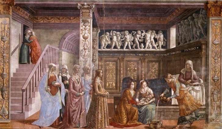 birth_of_st_mary_in_santa_maria_novella_in_firenze_by_domenico_ghirlandaio-850x496-2