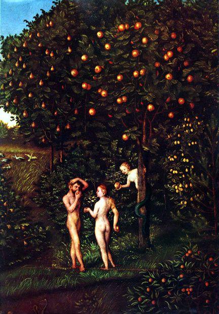 lucas_cranach-pintura-arbol-del-conocimiento